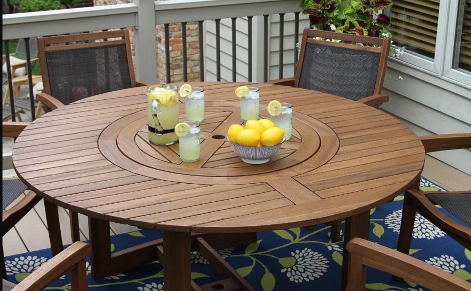 Birbirinden Farklı 7 Balkon Masası Fikirleri
